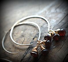 My simple collection earrings are so versatile . They have become my most popular line!  #marsala #2015