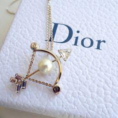Christian Dior tell me dior astrology zodiac pendant necklace gold Sagittarius - http://designerjewelrygalleria.com/christian-dior/christian-dior-tell-me-dior-astrology-zodiac-pendant-necklace-gold-sagittarius/