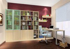 Modern glaswand palmen b ro innendesign interior for Studium innendesign