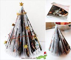 Junk Mail CHRISTMAS TREE
