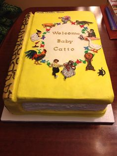 Little+Golden+Book+Cake+-+*