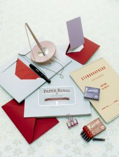 """This stationery is from our feature """"Santa's Stationery"""""""