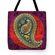 Here is a first design for paisley, an Indian element I love… Facebook Art, Paisley Design, Art Pages, One Design, Duvet Covers, Reusable Tote Bags, Throw Pillows, Indian, Mugs
