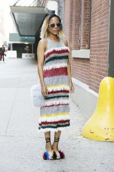 Street Chic - Black Girls Killing It at New York Fashion Week