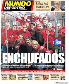 Portada Mundo Deportivo 1/02/2015