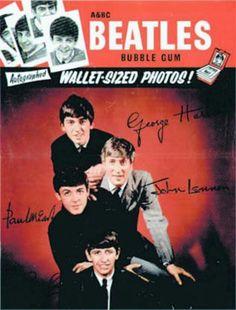 Beatle bubble gum cards