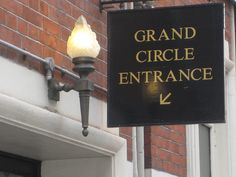 Theatre breaks in London from the Grand Circle entrance    http://theatrebreaksmag.co.uk/theatre-breaks-in-london/
