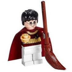Harry Potter (Quidditch Gear) with Golden Snitch - LEGO Harry Potter Minifigure