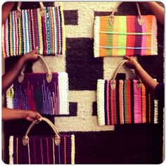 Hand-woven briefcases - adding delight to everyday life!
