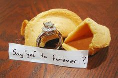 "Say ""yes"" to forever<3"