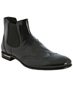 Prada wingtip boot