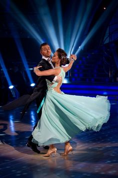 Classic Viennese Waltz is characterized by sweeping turns that move gracefully around the floor!