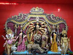 Durga Images, Lakshmi Images, Durga Maa Paintings, Durga Puja Kolkata, Maa Durga Image, Harvard Art Museum, Buddhists, Durga Goddess, Indian Gods