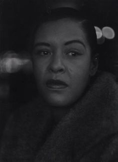 Billie Holiday by Roy DeCarava , 1955
