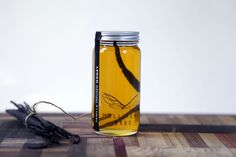 Organic Vanilla Bean infused honey
