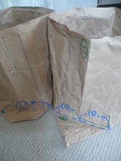 米袋バッグ「お袋さん」の作り方(皆さん編) - りんごと太陽  日々の暮らし Impressive Image, Blog Entry, Paper Shopping Bag, Diy And Crafts, Sewing, Handmade, Totes, Dressmaking, Hand Made