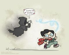 Harry Potter vs. Dementor's Kiss