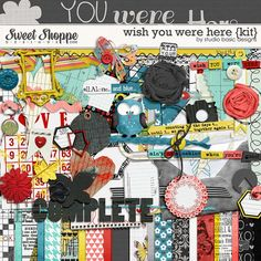 Wish You Were Here {kit} by Studio Basic