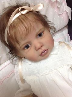 Prototype Lena Swialkowski reborn baby doll  toddler girl IIORA