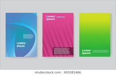 cover set Future geometric design. Abstract 3d meshes. Eps10 vector.
