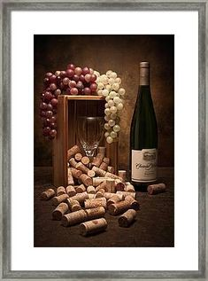 Food And Beverage Photograph - Wine Corks Still Life II by Tom Mc Nemar Wine And Cheese Party, Wine Tasting Party, Wine Cheese, Wine Tasting Glasses, Wine Party Decorations, Wine Decor, Wine Themed Decor, Wein Parties, Wine Display