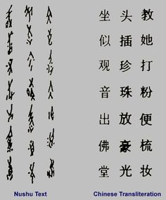 Ancient Scripts: Nushu - featured in my latest post at http://iwasahighschoolfeminist.com/2014/09/29/live-tweeting-women-writing-across-cultures/