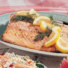 Fish Recipes: Seafood Fish Recipe: Baked Salmon Recipe