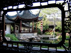 traditional garden in Suzhou, China