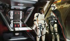 Finn and Phasma Gwendolyn Christie, Imperial Stormtrooper, Jango Fett, John Boyega, Image T, Vhs Movie, Episode Vii, Star Wars Images, Mark Hamill
