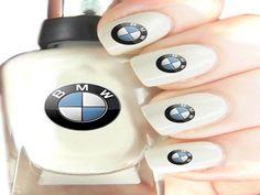 BMW Nails - AmazingNailArt.org |