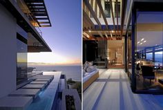 Modern overhangs | Ultra-Modern-Home-in-Cape-Town-Lovingly-Preserves-Family-Antiques_02