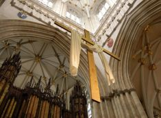 Easter Cross York Minster York Minster, Yorkshire Uk, Easter Cross, Cathedrals, Home, Ad Home, Homes, Haus, Cathedral