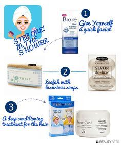 Easy products that help you achieve the perfect at home spa day!