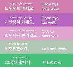 Top 25 Useful Korean Phrases
