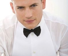 Wentworth Miller-looking handsome as usual!
