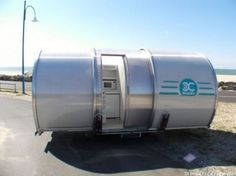 BeauEr 3X slide-out caravan by eterniti caravans by Gallic inventor Eric Beau   http://www.eterniti-caravans.com/