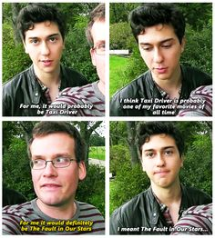 Who remembers Natt Wolf in The Naked Brothers Band show Natt Wolf, Hank Green, John Green Books, Augustus Waters, Looking For Alaska, Paper Towns, Tfios, The Fault In Our Stars, Book Fandoms