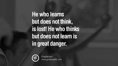 confucius quotes | ... danger. Confucius Quotes and Analects on Life, Success and Struggle