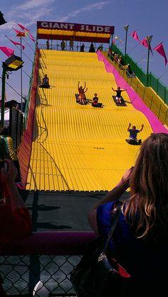 Gov. Kasich on the Giant Slide