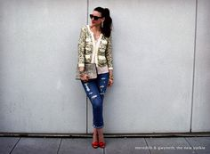 Philip Lim Bracelet Sleeve Jacket. Meredith & Gwyneth, the New Yorkie: Let's Get This Party Started