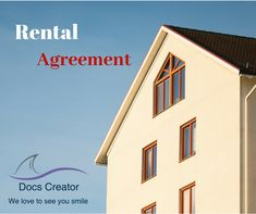 7 best Rental Agreement Templates images on Pinterest   Rental     A Real Estate Purchase Agreement is a home purchase agreement for  residential property  Explore Rental