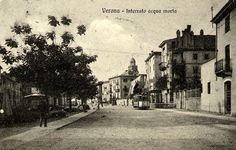 Verona - il vecchio Isolo e via interrato Acquamorta.