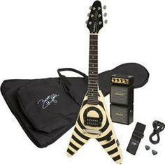 Epiphone Flying Vee Wee Zakk Pakk Electric Guitar/Amp Value Pack