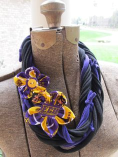 For my ECU friends - Handmade ECU Pirates East Carolina Necklace Scarf by JustPennies, $20.00