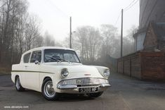 Ford Anglia, my very first car