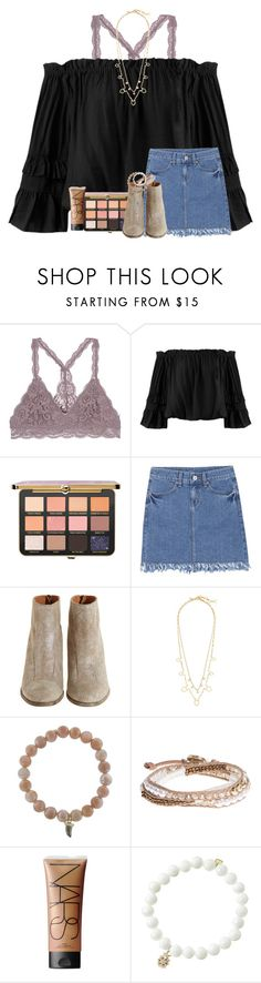 """""""D8:)"""" by mallorykennerly ❤ liked on Polyvore featuring Sans Souci, Hoss Intropia, J.Crew, Sydney Evan, Lonna & Lilly and NARS Cosmetics"""