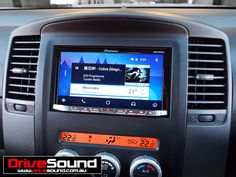 Nissan Navara with Android Auto installed by DriveSound Nissan Navara, Android Auto, Ford Falcon, Car Audio, User Interface, Brisbane