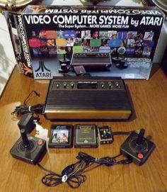ATARI CX2600 Computer System Original in Box 1978 Model #Atari