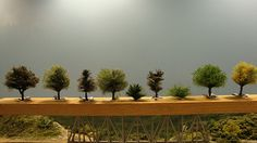 Making trees again - The Whistle Post - Model Railroad Forum