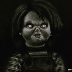 Chucky Rectangular Pillow by Fulaleo - Small x Scary Chucky, Childs Play Chucky, Framed Art Prints, Canvas Prints, Character Portraits, Buy Frames, Horror Movies, Kids Playing, Monochrome